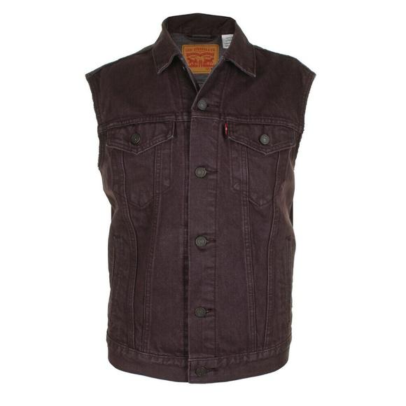 Levi's Other - Levi's Purple Men's Regular Fit Trucker Vest
